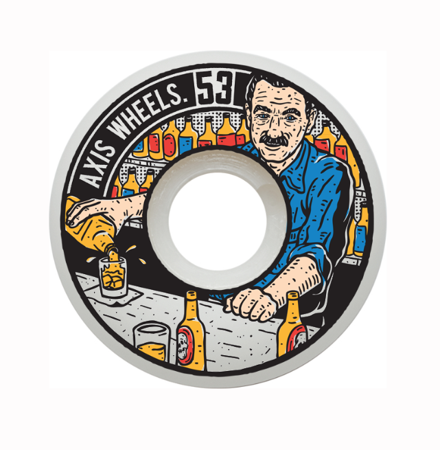 marcusdixon: A wheel I designed for a new AUS based wheel company, Axis wheels. Should be available very soon. www.axiswheels.com.au