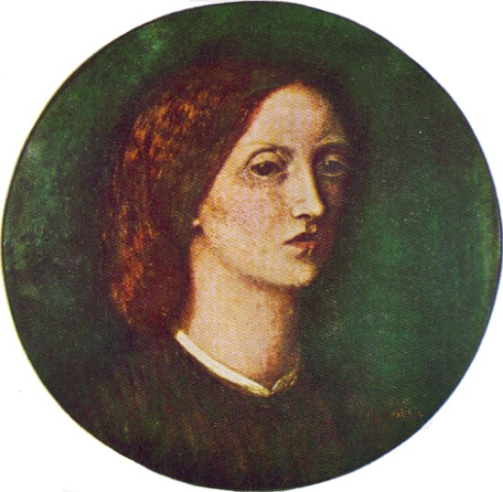 Self Portrait, by Elizabeth Siddal.