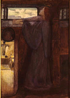 Eve of St. Agnes, by Elizabeth Siddal.