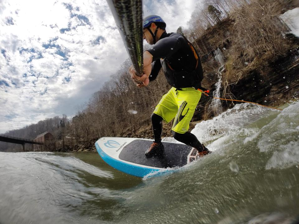 Paddler: Mike Tavares