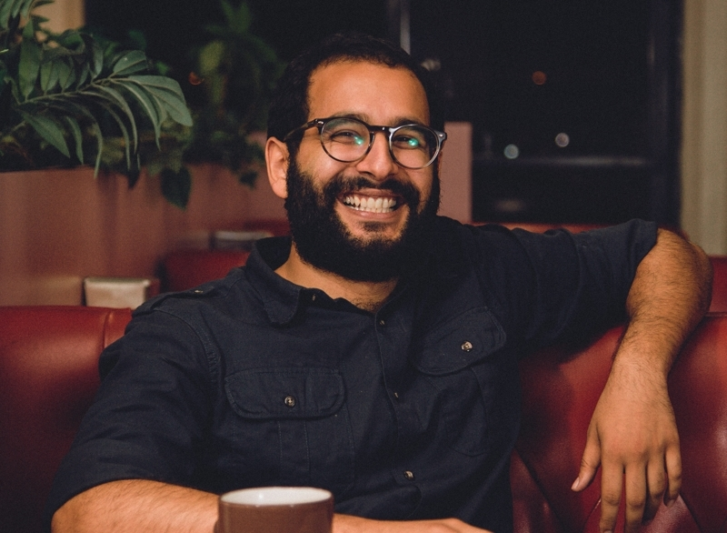 Comedian Omid Singh