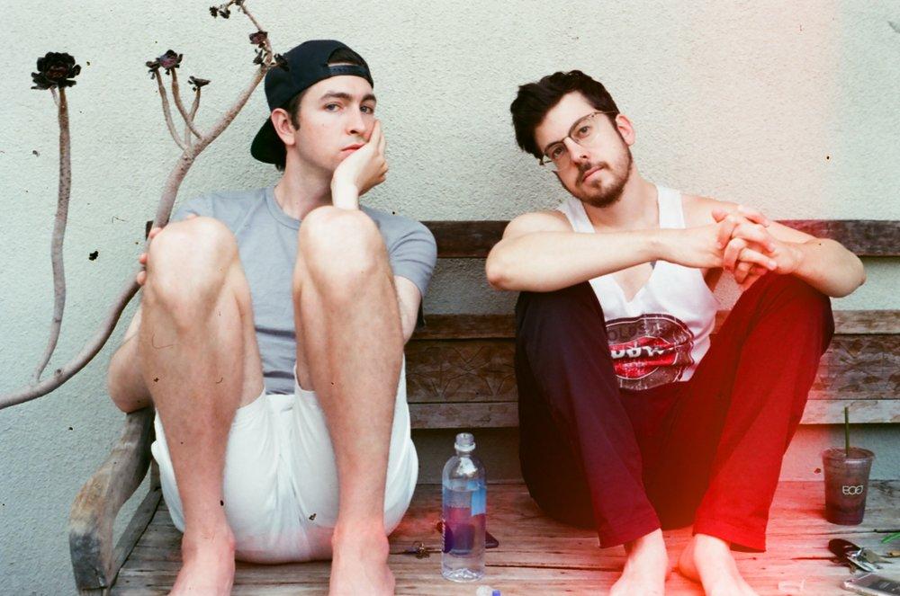 Nick & Chris || Bronson Island Studio, Los Angeles, CA || 35mm || 2016
