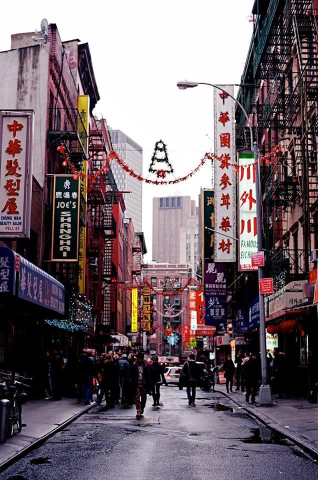 Rainy Sunday || Chinatown, NY || 35mm || 2016