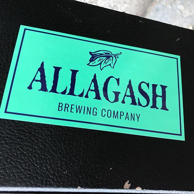 ❤ @allagashbrewing ❤ We're no where near Portland anymore but we'll be at @electric_haze_worcester tonight!!