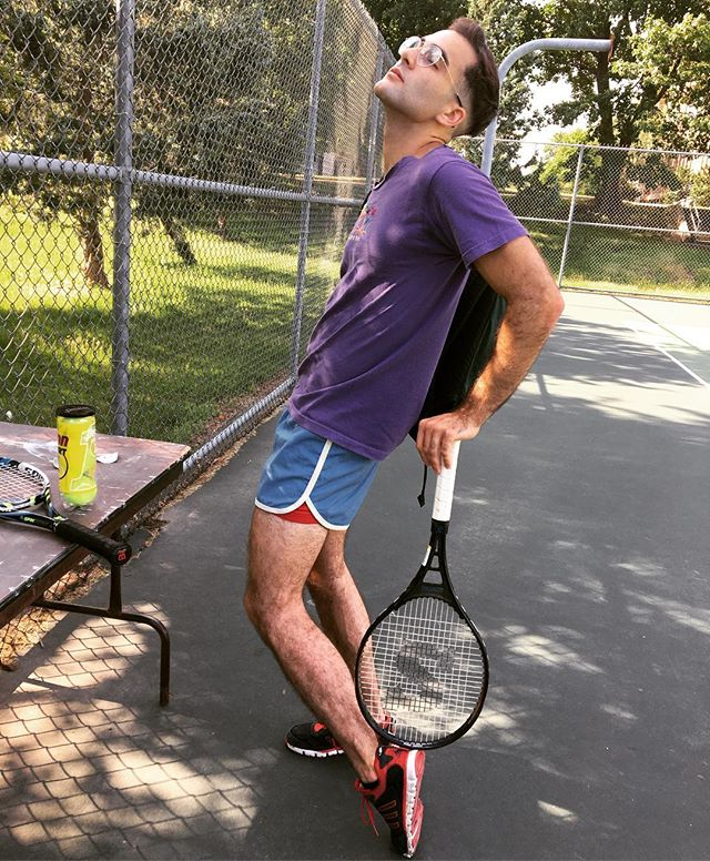 Serving some heat and causing a racket, this ace sure knows how to hit the summer right. #deuce