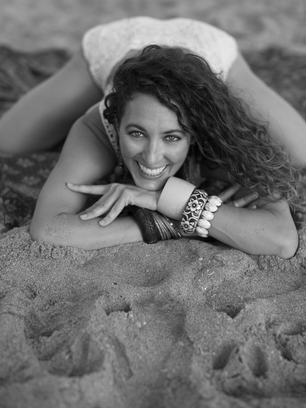 artistic yoga portrait south florida