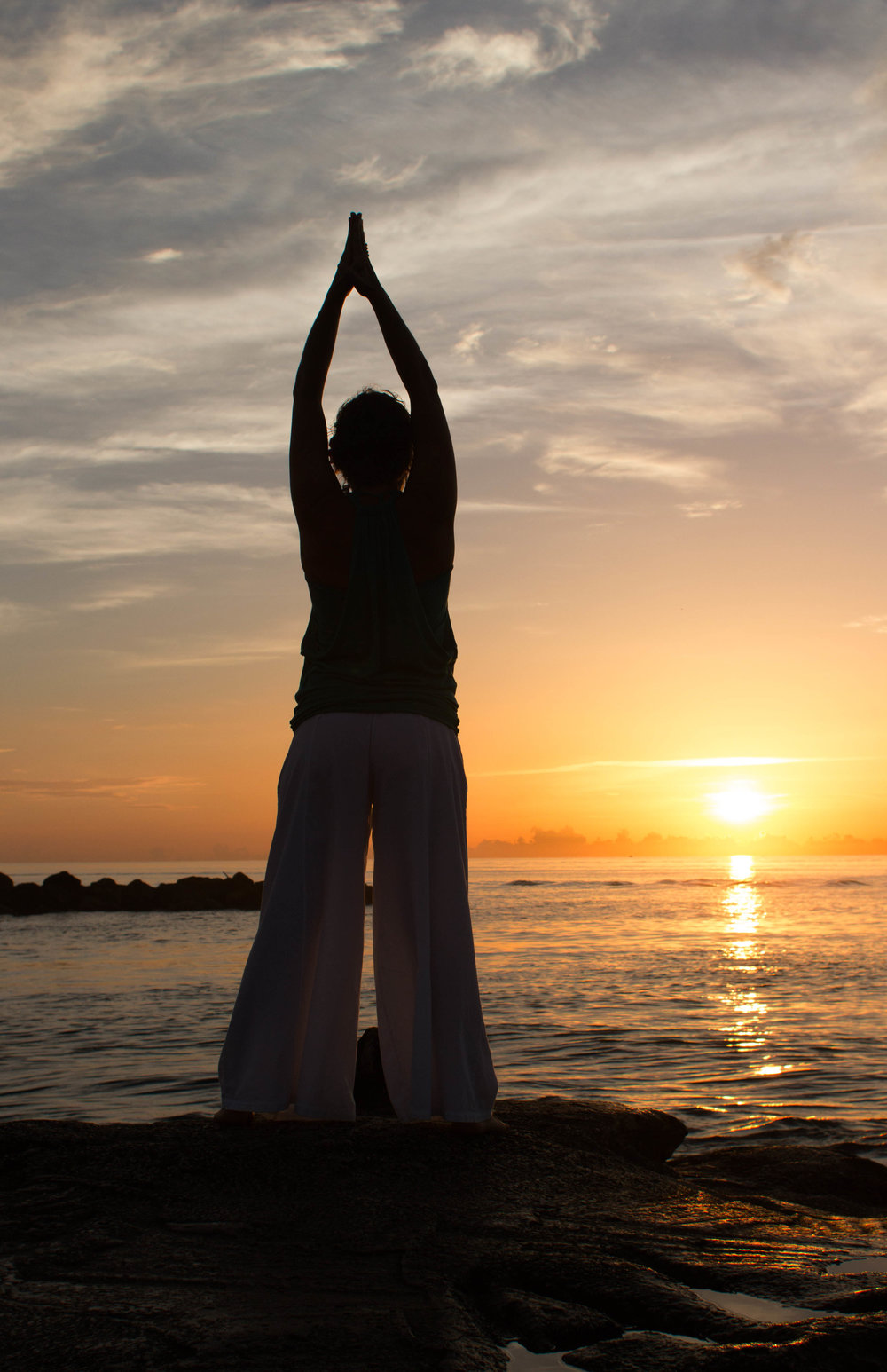 yoga photography sunrise