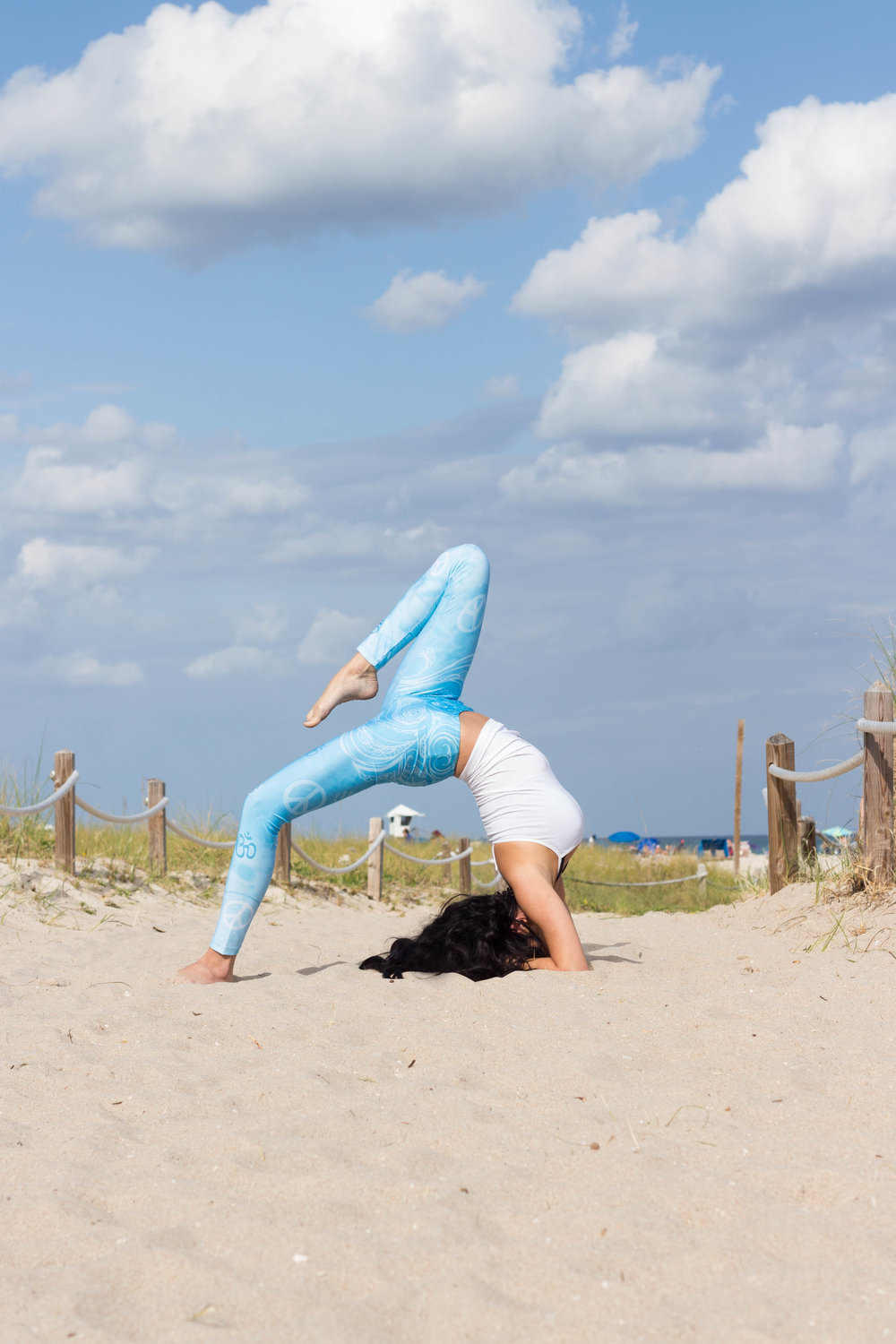 beach yoga photography south florida