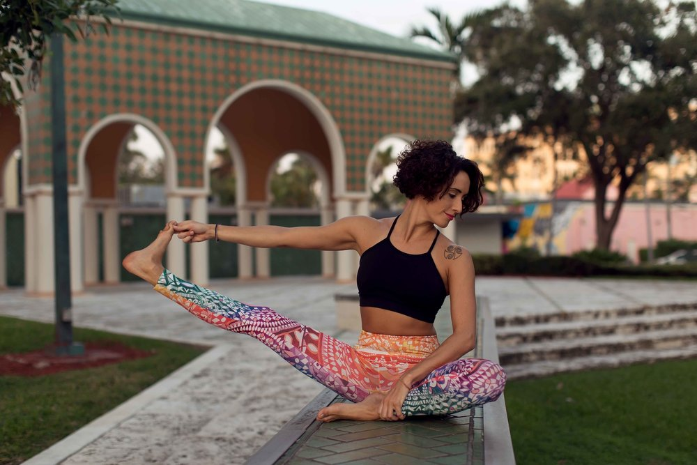 artistic yoga portraits south florida
