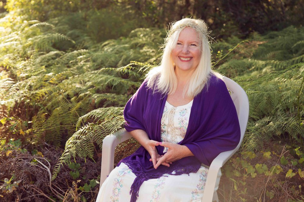 The mother, Wendy, is a luminary and a spiritual midwife. Learn more about what she does  here .