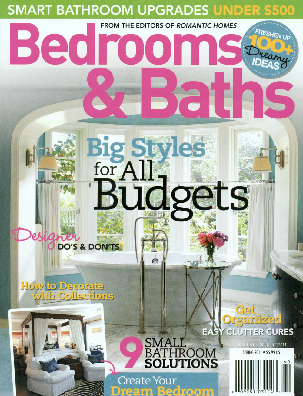 Spring 2011, Bedrooms & Bathrooms Magazine