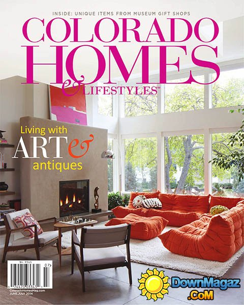 June/July 2014, Colorado Homes & Lifestyles