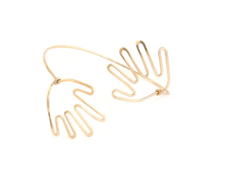 THE HAND COLLECTION   A playful exploration of form to be worn.    View this collection