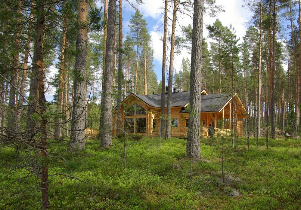 Загородный дом в Финляндии, Heinävesi, 2009