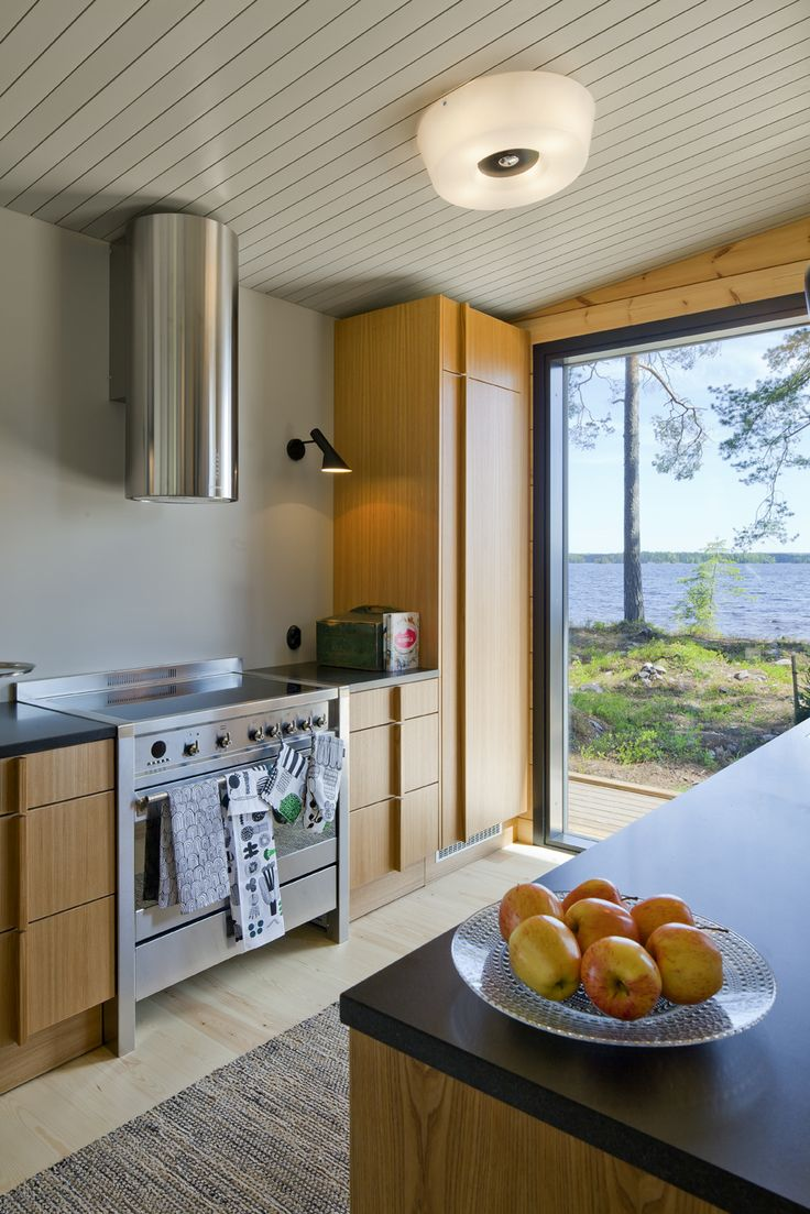 Коттедж на берегу озера Хонка, Финляндия