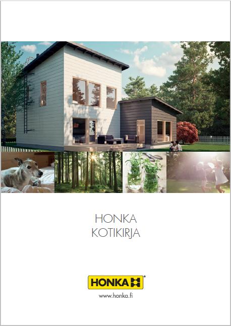 Kotikirja 2015   Современные городские дома Хонка для строительства в Финляндии  60 стр., 17Мб