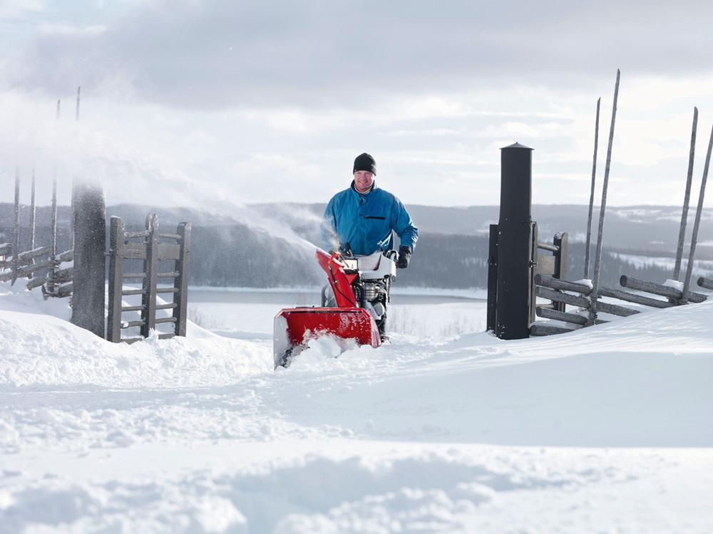 Уборка снега. Недвижимость в Финляндии