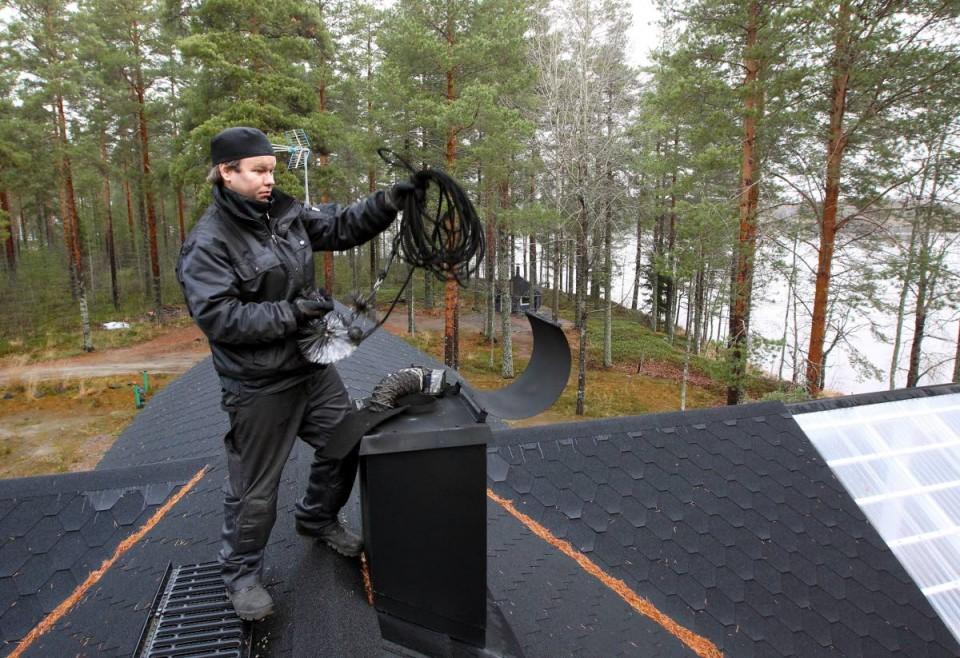 Трубочист. Дом в Финляндии