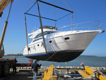 Обслуживание катера, лодки, яхты. Финляндия