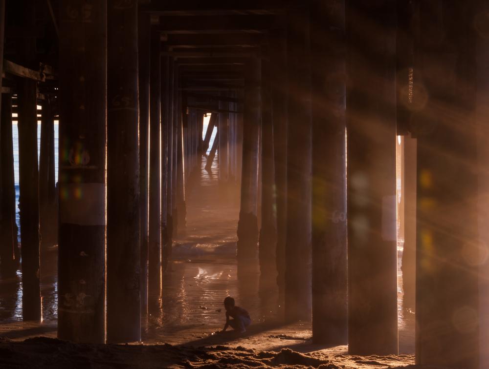 santa monica pier by amy kanka valadarsky