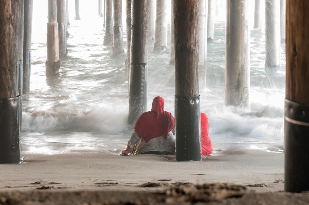 Santa Monica - Under the pier