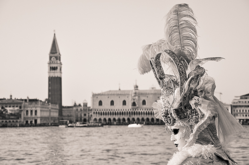 Carnival in Venice by Amy Kanka Valadarsky