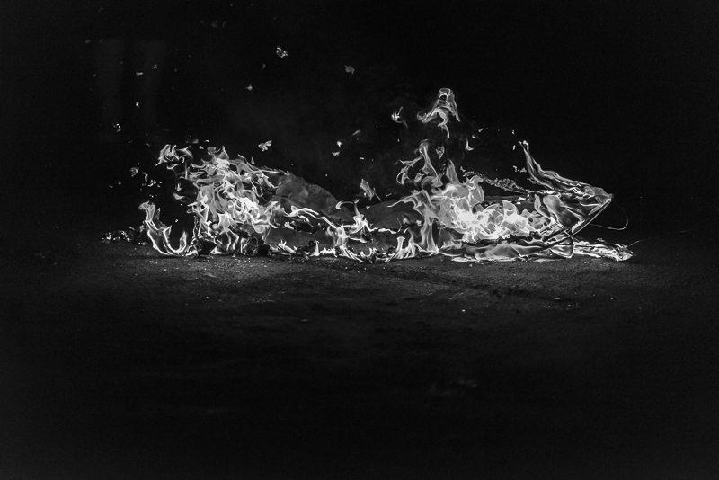 Fire dance #7, The end