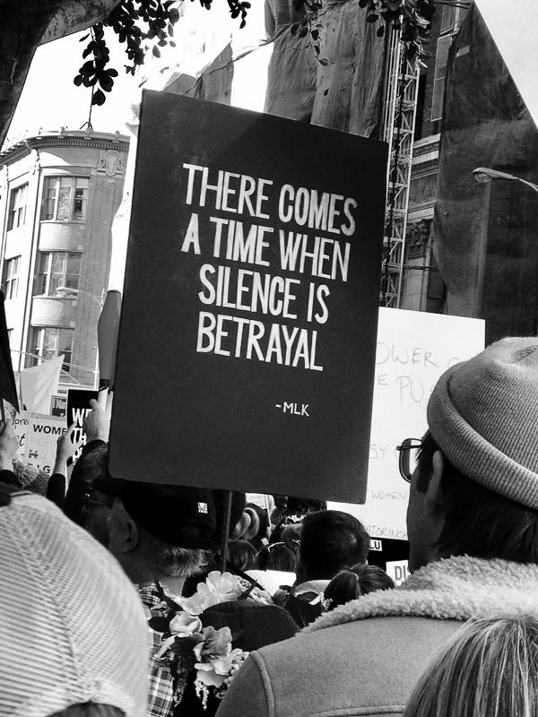 women march la