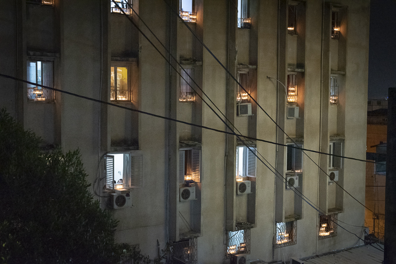 The poorest city in Israel bathed in Hanukkah lights