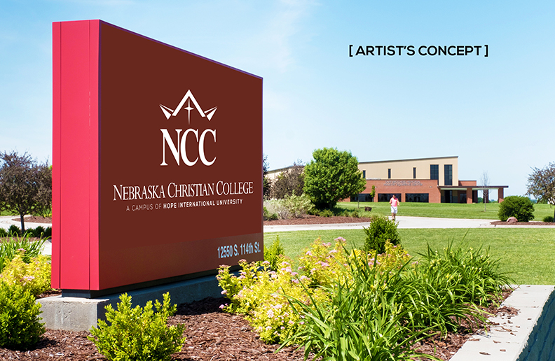 Artist's concept of coming new NCC marquee
