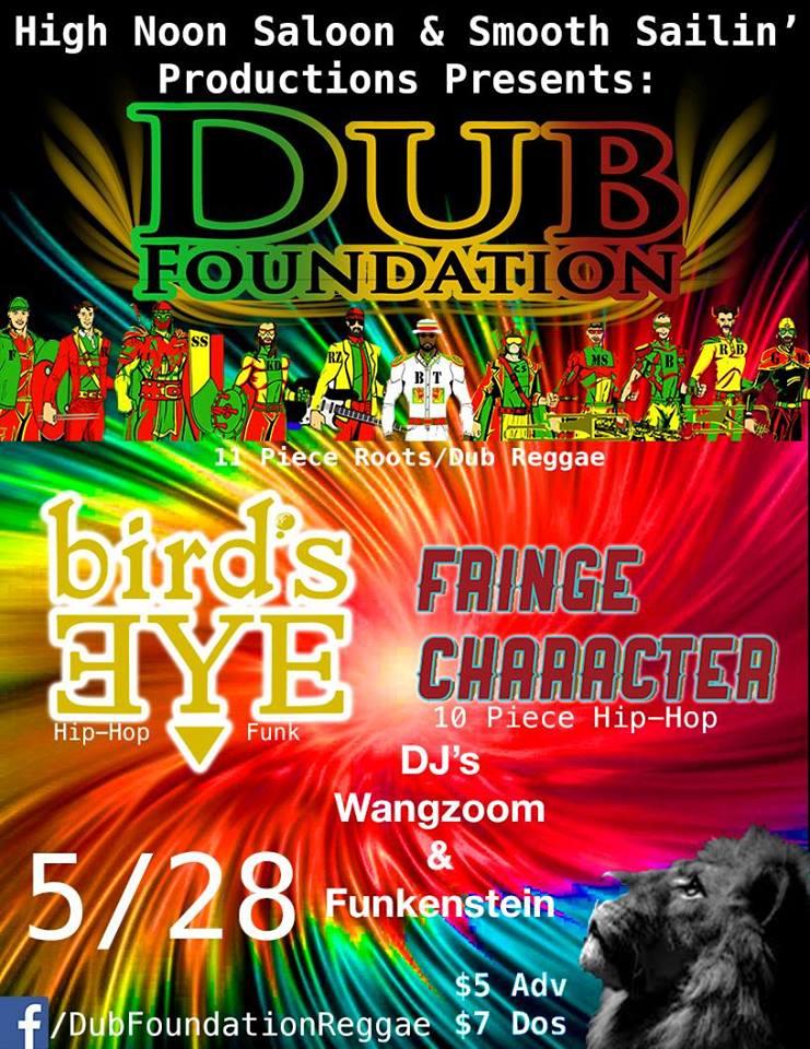 Dub Foundation | Bird's Eye | Fringe Character