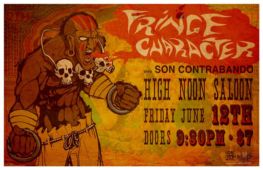 Fringe Character | Son Contrabado @ High Noon Saloon, June 12th 2015