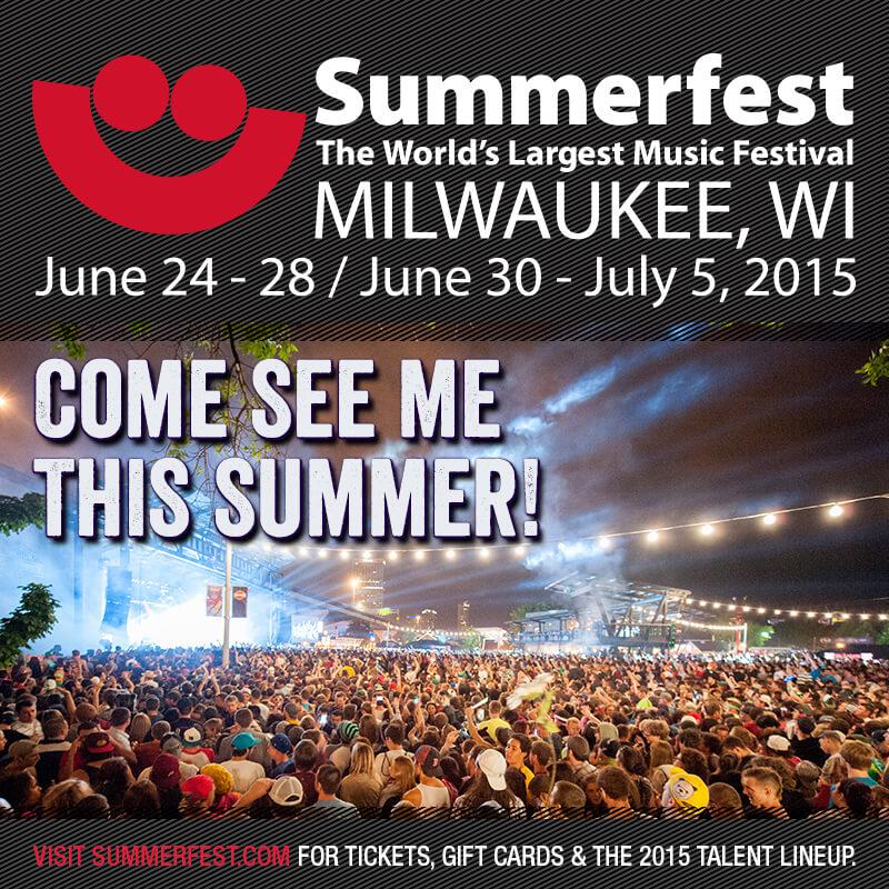 Fringe Character @ Summerfest 2015