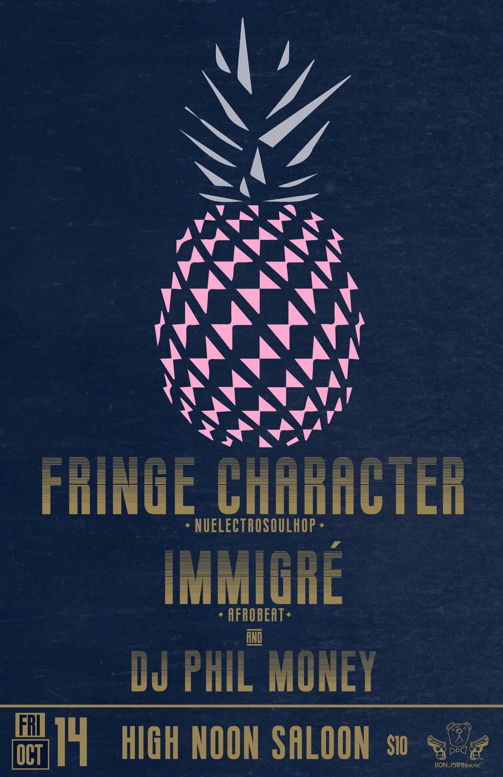 Fringe Character | Immigré | DJ Phil Money at High Noon Saloon