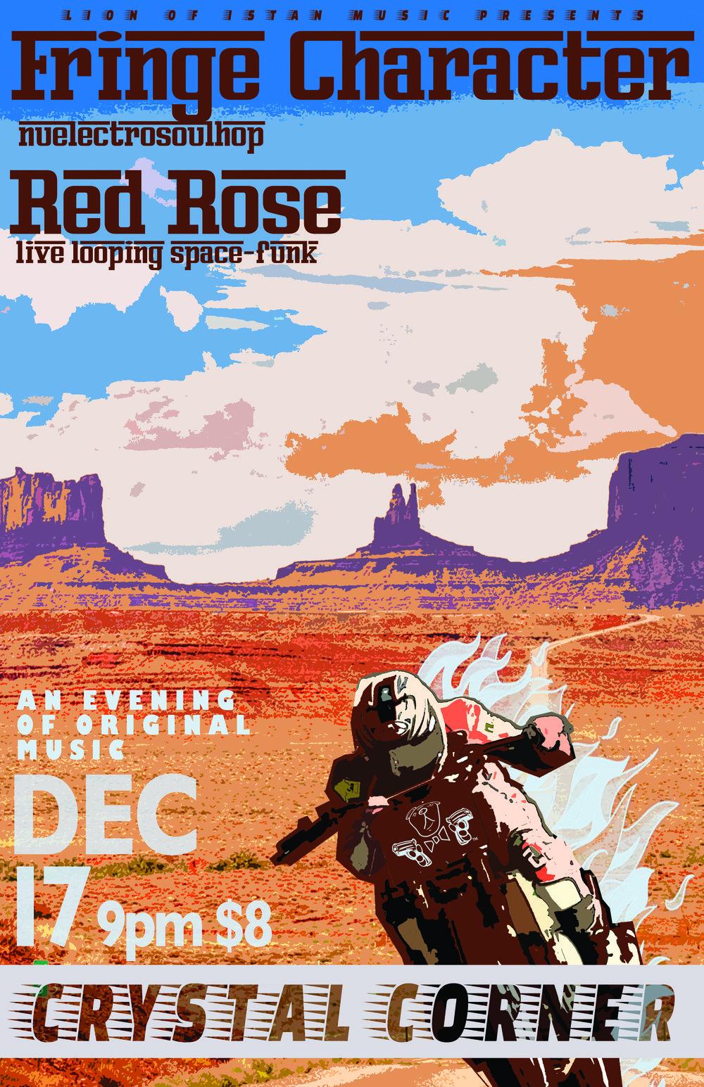 Fringe Character | Red Rose @ The Crystal Corner