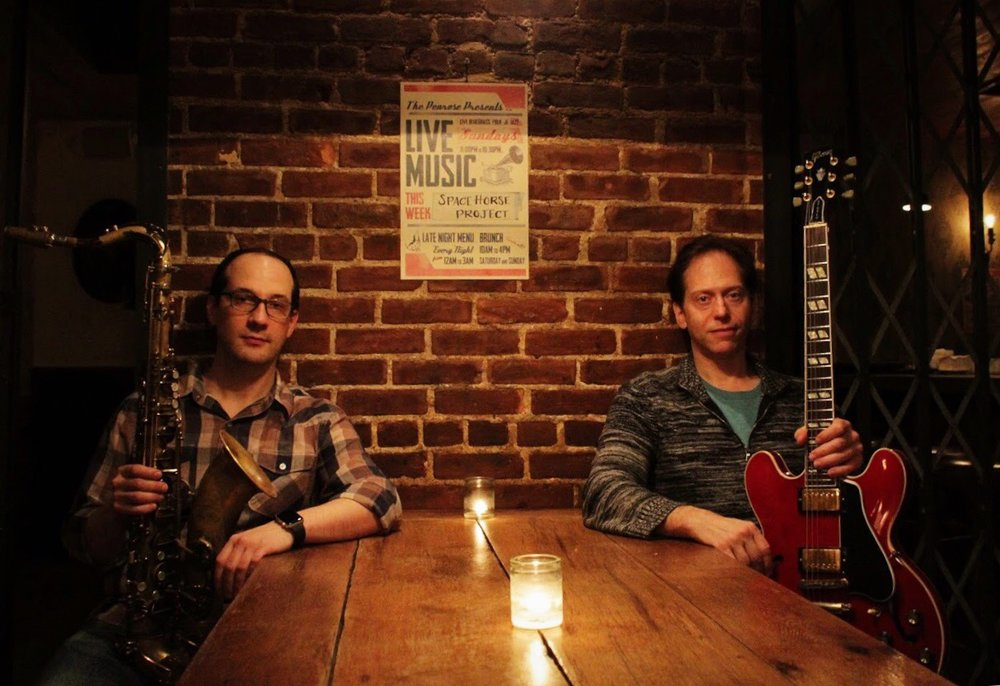 The Velvet Gypsies are long-time friends and musical cohorts, Vince Marrone and Dieter Winterle. Whether playing in a duo, trio or other format, they put together the odd and even pieces of jazz, blues, pop and funk they find in this rolling dream called life.