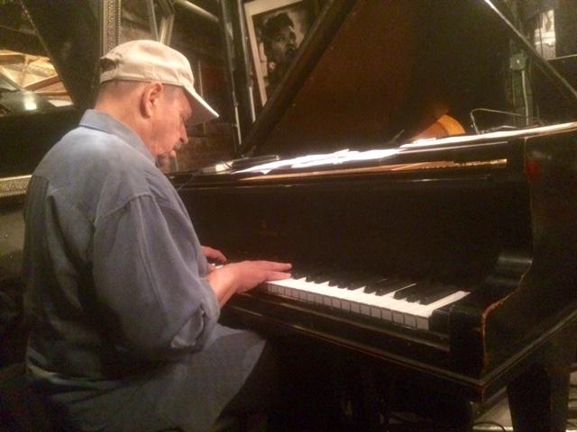 Burt Eckoff has played regularly with an impressive list of prominent jazzmen , including Howard McGhee, Art Blakey, Roy Eldridge, Sonny Stitt, Archie Shepp, Maynard Ferguson and such outstanding vocalists as Dionne Warwick, Dakota Staton and the Drifters.