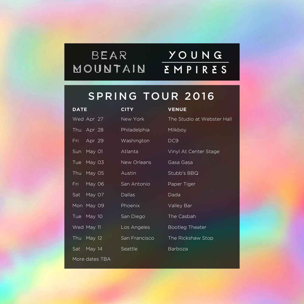 BMTN spring tour