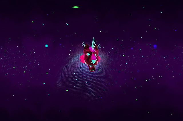We made a music video in full 360 VR, which takes place in techno outer space and includes a flying dragon head and dear constellation coming to life! Check it out! #360video #virtualreality #bmtn