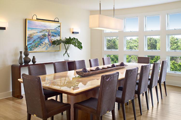 Amagansett Beach Retreat Linda Burkhardt   Formal dining room sets for 12Sideboards Extraordinary Dining Room Sets With Hutch Dining Room  . Formal Dining Room Sets For 12. Home Design Ideas