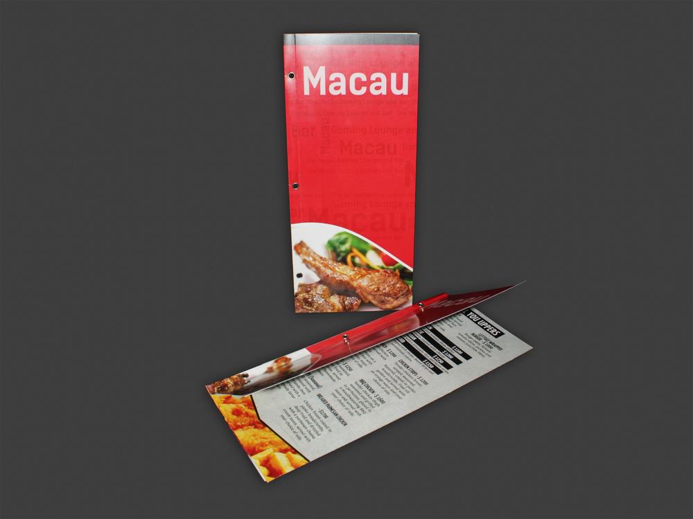 Menu | Macau Restaruant