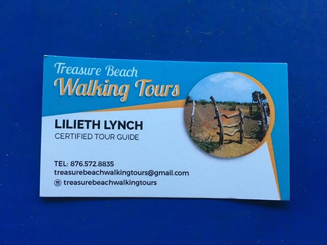 Thank you Treasure Beach walking tours for asking Paperboy JA to do your printing. May your business prosper #historicaltour #startyorbusiness #followyourpassion #walkgood