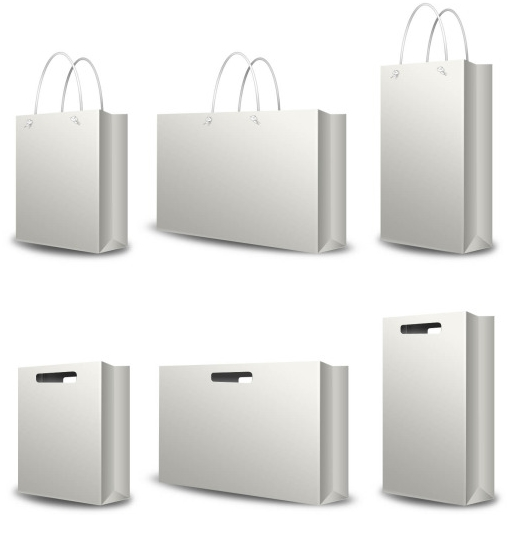 White Paper Bag Png White Paper Bags Png