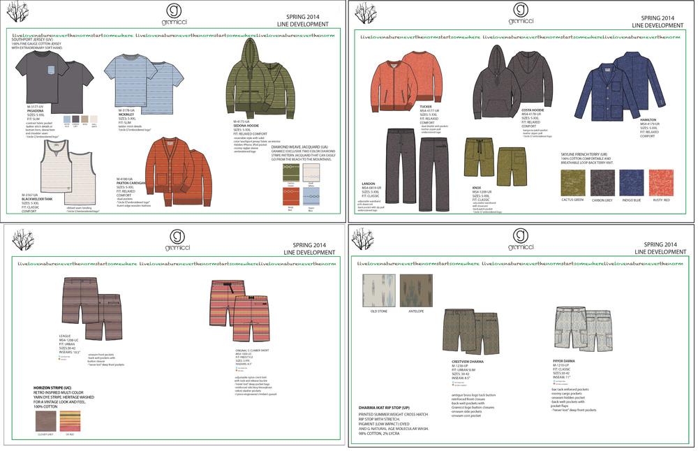 line sheets