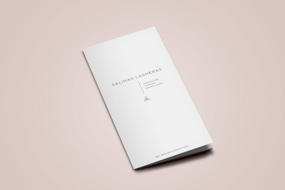 SALINAS LASHERAS  - TRIFOLD DESIGN