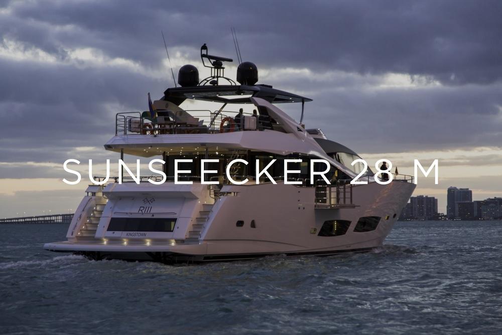 SUNSEECKER 28 M - MIAMI