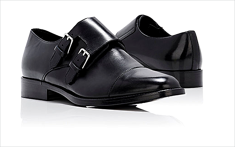 "Saint Laurent's ""Dylan 20"" Double Monk Strap Shoe"
