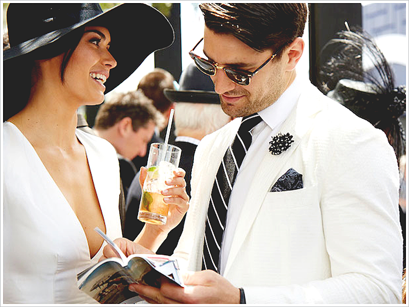 The Melbourne Derby is a great place to get wedding style influences!