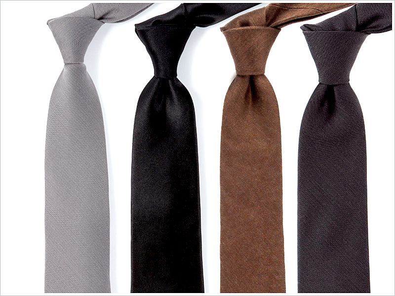 The best solid ties have plenty of texture to them!