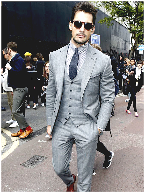 David Gandy; Solid Tie